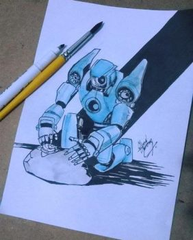 Robot by MarkerChief