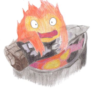 Calcifer. by Peppermint-Tea