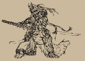 WOLF WARRIOR by UCHIDER