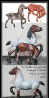 Customized Drafter modelhorses by yavanna-niniach