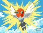 Pokemon Art Academy: Fletchling by spyrofreak01