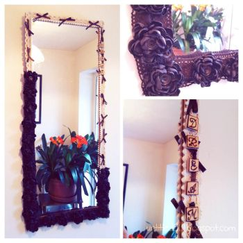 handmade decorative mirror by untitled512
