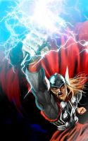 The mighty Thor by devianchild