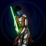 Chiss Jedi Knight Vala'nil by AskerND01