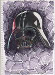 Darth Vader by Nickmynotebook