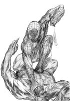 COLOR ME Spidey Venom by Sach4christ