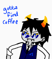 GOTTA FIND COFFEE by Ultimagus