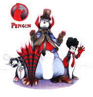 Pengin- God of Penguins by CainDraka