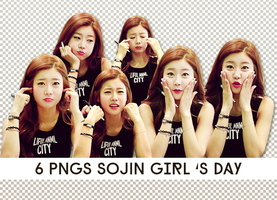 6 PNGs SOJIN Girl's Day by jely112