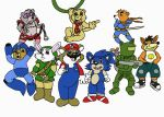Cartoons Cosplaying by 101boy