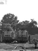 M40 201 and 235 in Gyor depot by morpheus880223