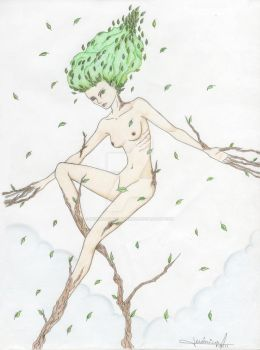 Naked nature by RedBaloonfortheKids
