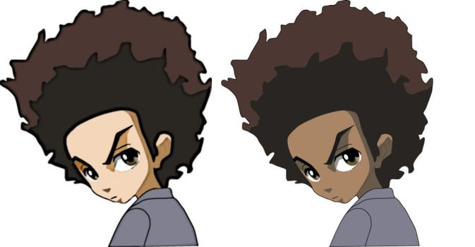 from Rohan naked pictures of the boondocks
