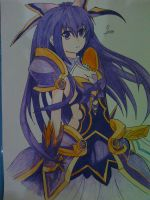 Date A Live-Tohka by jarild12