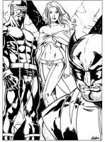 Xmen by luisalonso