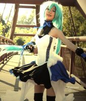 7th Dragon 2020 - Hatsune Miku cosplay by kuromiluminous