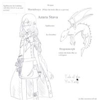 Dragon OC: Azura Stava by The-sorceress-of-air