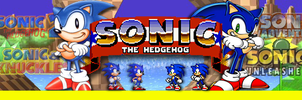 Sonic Series Banner by MegaMac