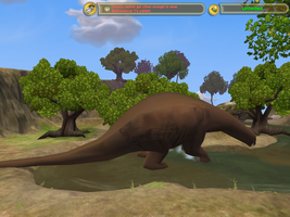 Apatosaurus finished model by DeviantGT