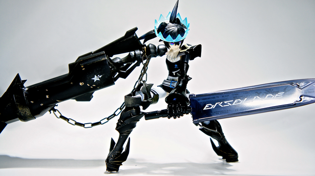 Insane Black Rock Shooter Beast by Solastyre