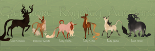 Glenmore Royalty Auctions - WINNERS! by TigressDesign