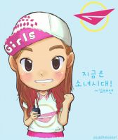 SNSD TaeYeon Girls and Peace ~ by jinsuke04