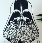 10/08 - Darth Vader by Chocolace
