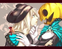 Magnet: Iiki Koe and Pumpking by cafe-star