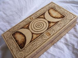 Triple Goddess jewelry box by parizadhe