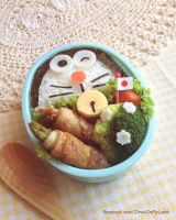 Doraemon Bento Lunch box by loveewa