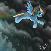 Falling Rainbows. by LordSameth