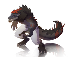 Collab: Drak by synderen