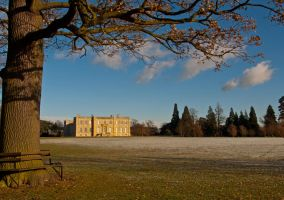 Kimbolton Castle Winter by davepphotographer