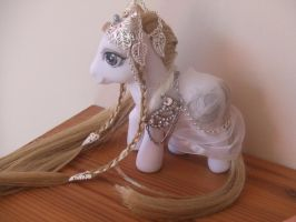 Elven Princess My Little Pony Custom by lilacamy931
