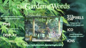 The Garden of Words by Solutionist