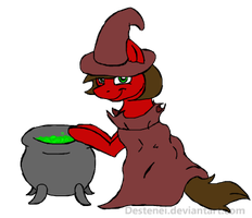 Amelia the witch :RQ: by Neyonic