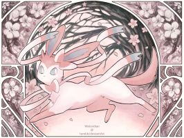 PKMN: Sylveon by Weissidian