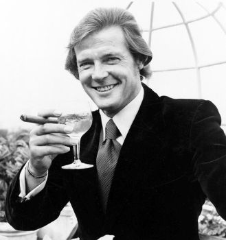 Roger Moore! my first James Bond. by julia1a