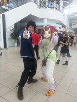 Meow and Space Dandy by EyonSplicer