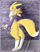 Renamon Commission by Namidamei