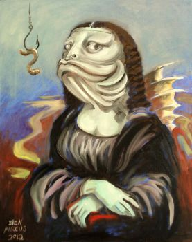 Mona Lisa The Fish by nellems