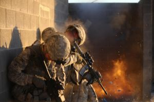 Urban Combat Exercise by MilitaryPhotos