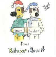 bitzer and gromit holidays by beto-zoka