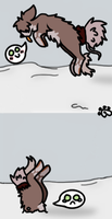 Oh Tyrone.. that's not how snow works. by Samagirl