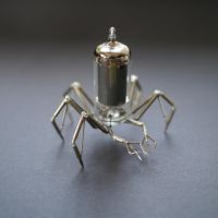 Vacuum Spider No 3 by AMechanicalMind