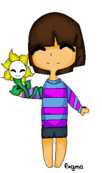 Pagedoll for you Undertale fans by ExGamerChan