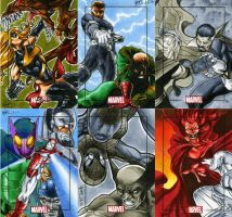 Marvel Heroes and Villains 24 by RichardCox