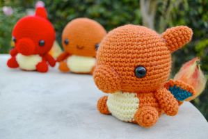 Charmander Evolutions by cyellow