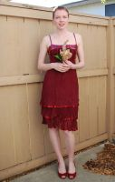 Red Dress Stock 15 by chamberstock