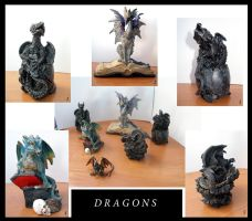 My little dragon collection by DRagonka